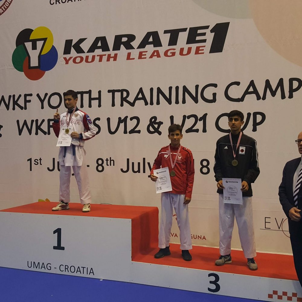 Muhammed erneut 3. bei K1 Youth League