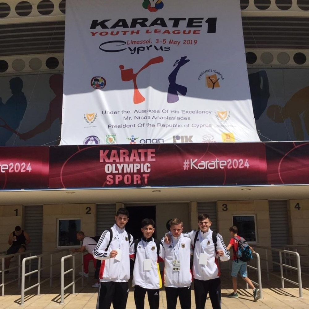 Platz 9 bei Karate 1 Youth League