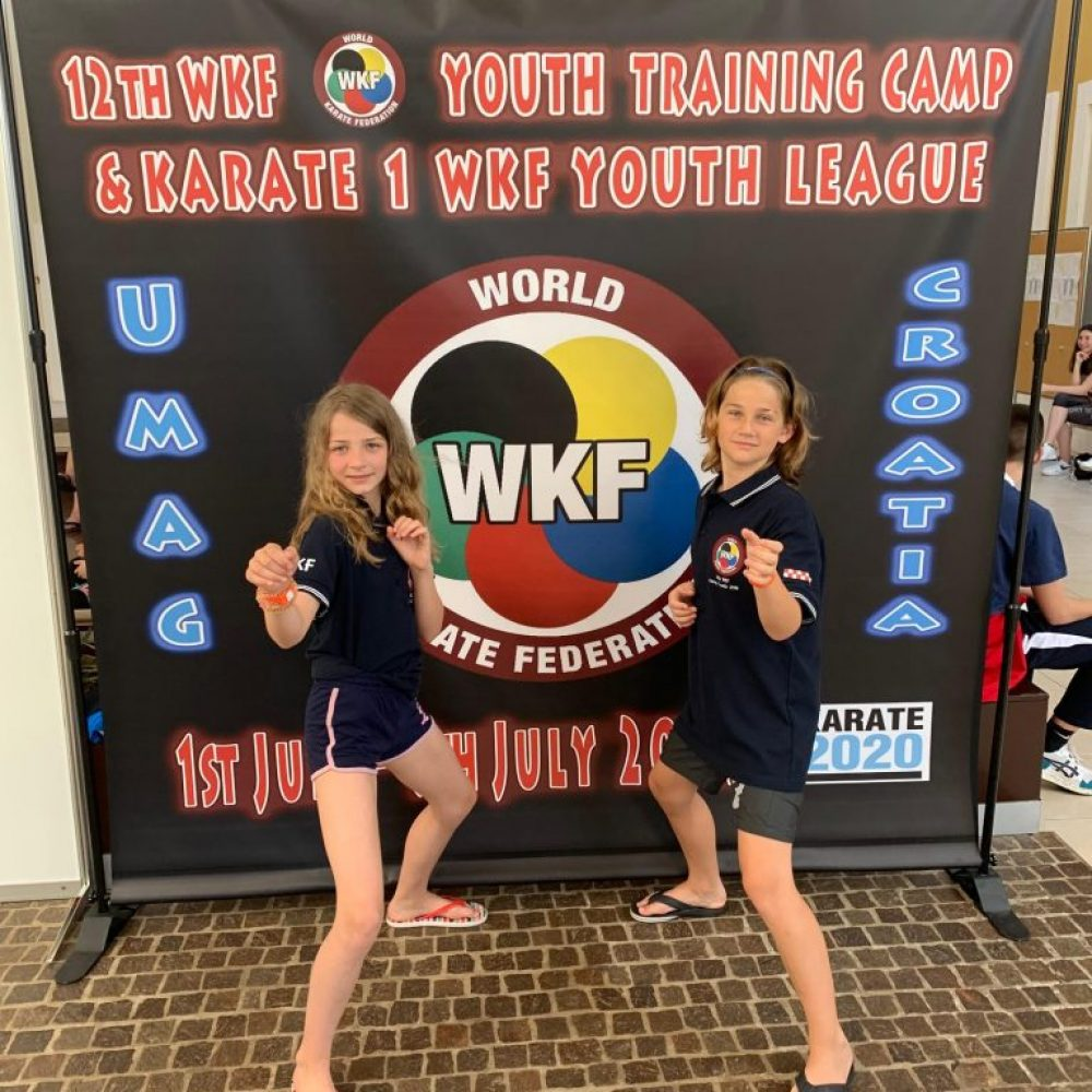 WKF Trainings Camp und u12 Cup 2019