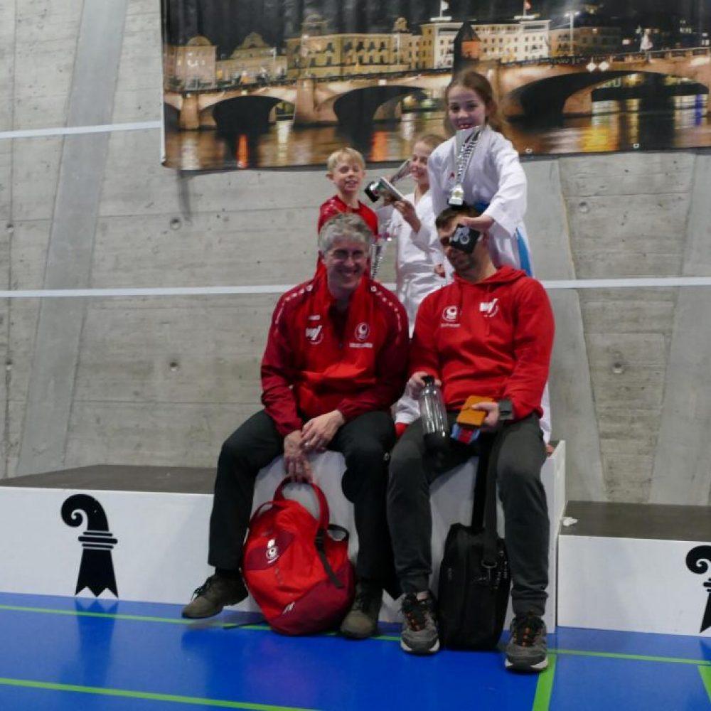 Rhein-Neckar Karate Team im Westerwald und der Schweiz erfolgreich