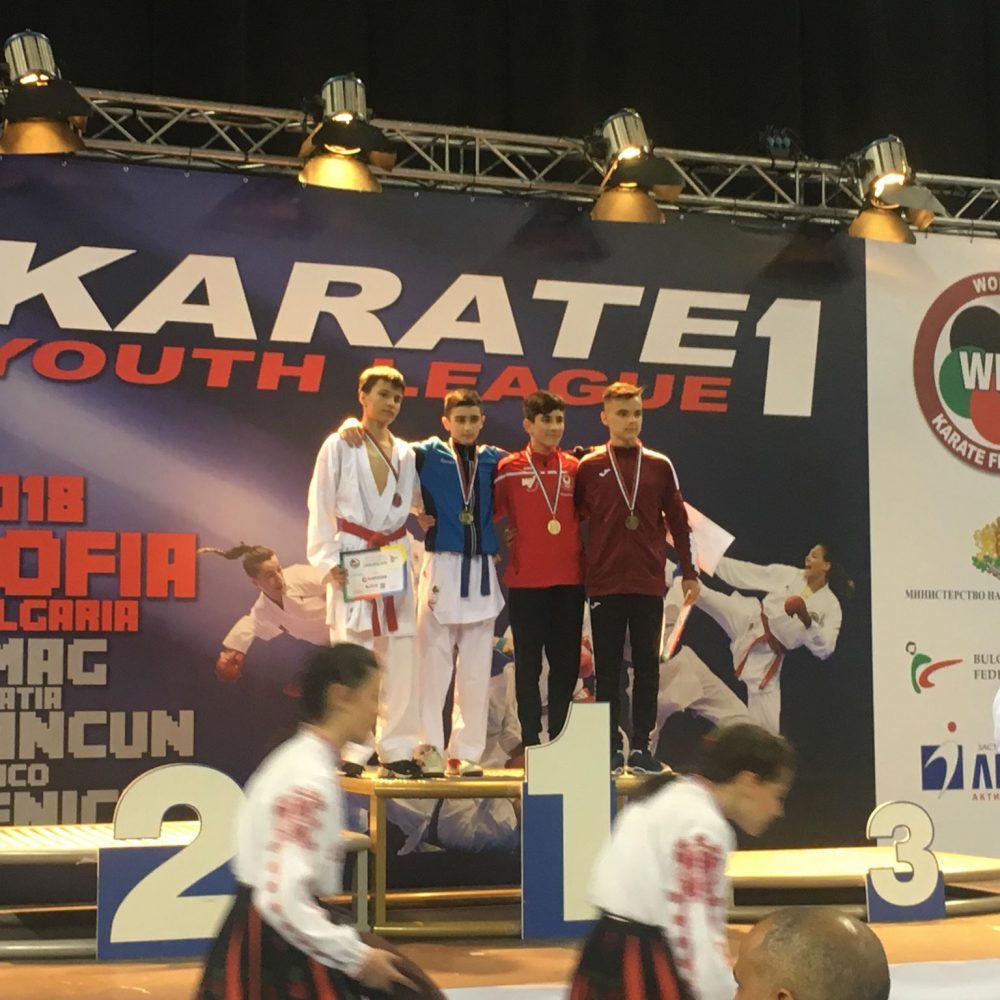 3. Platz bei WKF K1 Youth League