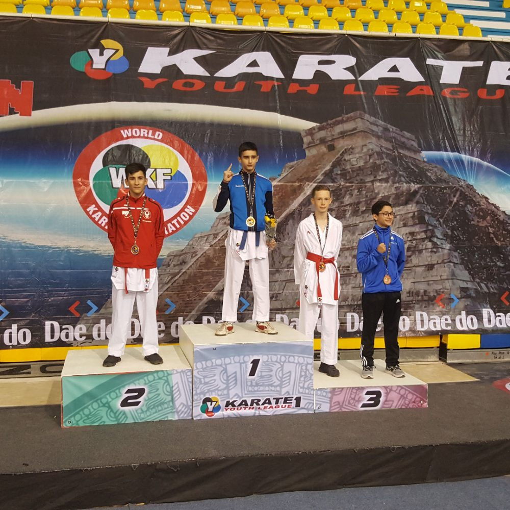 Zweiter Platz in Mexiko und Weltrangliste
