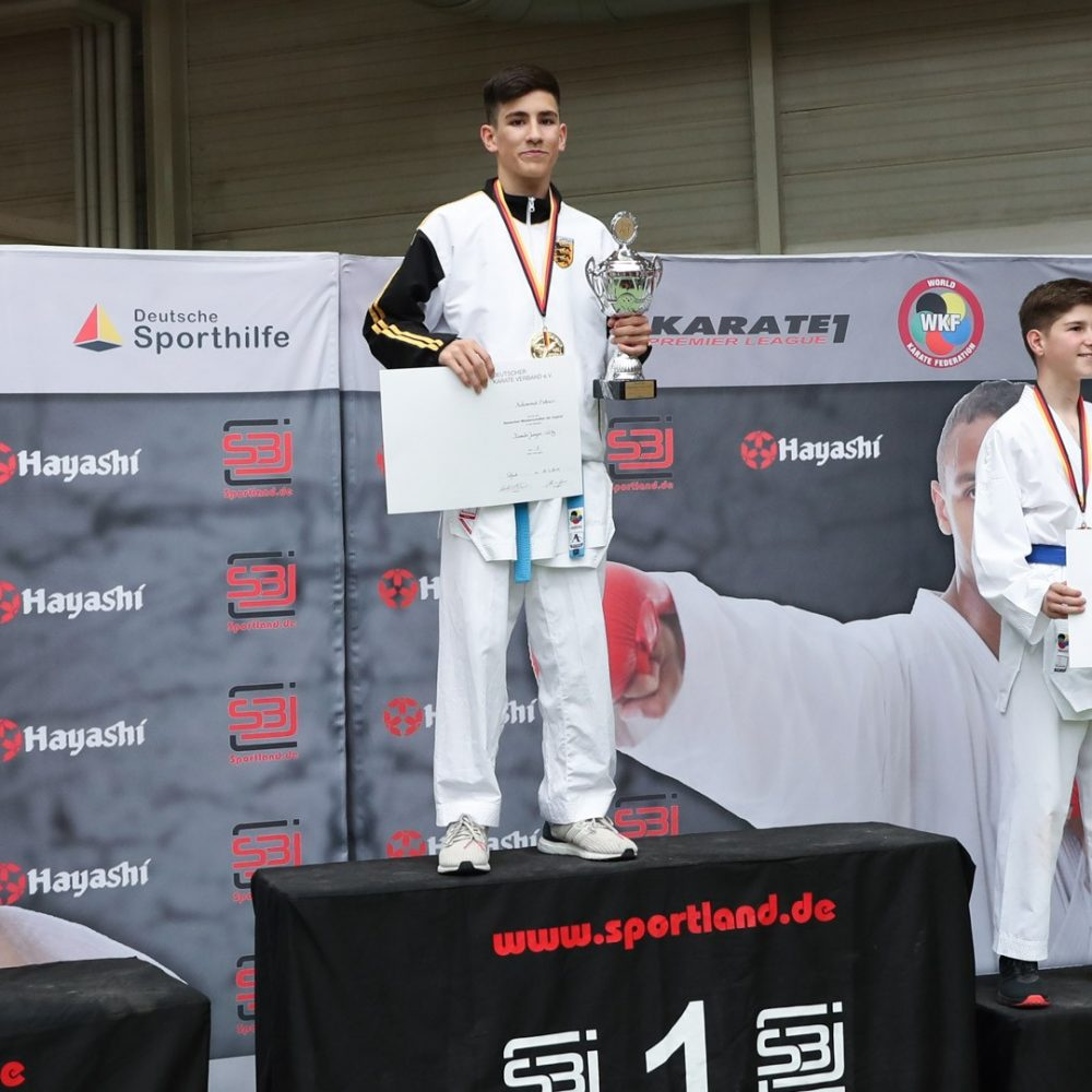 Muhammed Özdemir sichert sich 3. Titel